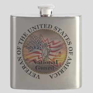 veteran lg size-nationalguard Flask
