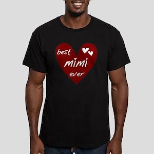 redbestMIMI Men's Fitted T-Shirt (dark)