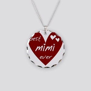 redbestMIMI Necklace Circle Charm