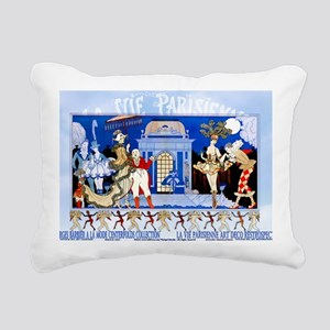 1 A BARBIER GARDEN PARTY Rectangular Canvas Pillow