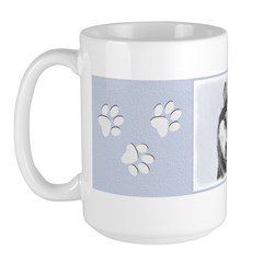 Siberian Husky (Black and Mug