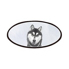 Siberian Husky (Black and White) Patch