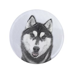 Siberian Husky (Black and White) 3.5