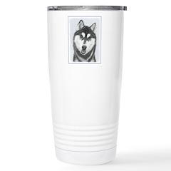 Siberian Husky (B Travel Mug
