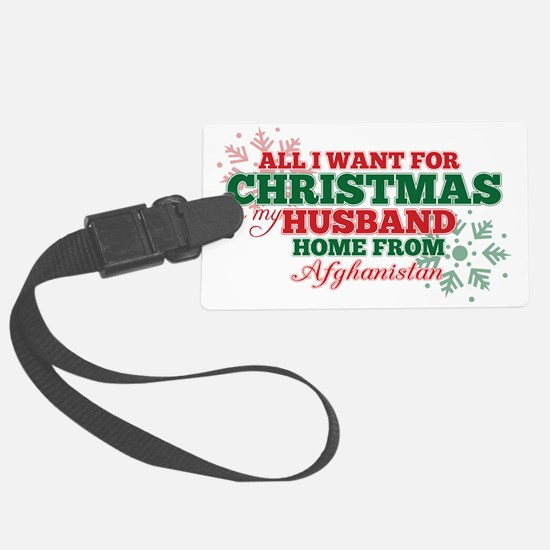 all i want for xmas4 Luggage Tag