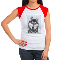 Siberian Husky (Black Tee