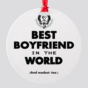The Best in the World – Boyfriend Ornament