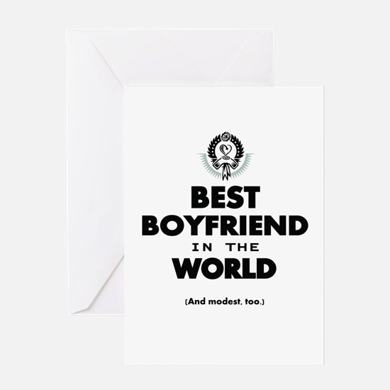The Best in the World – Boyfriend Greeting Cards