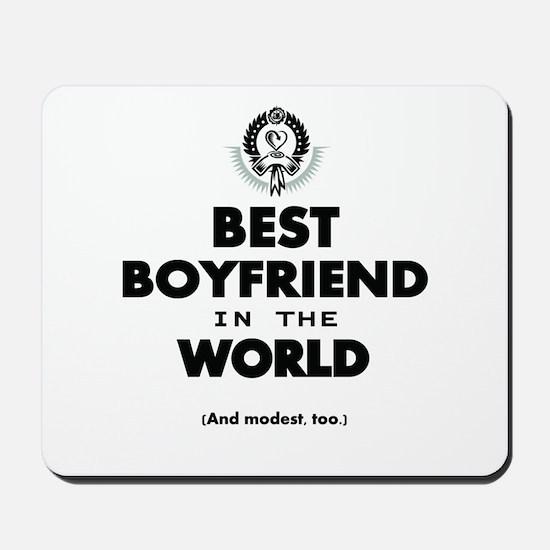 The Best in the World – Boyfriend Mousepad