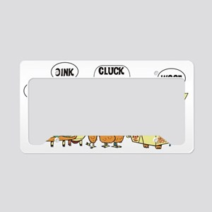 Chinese Cats and Dogs License Plate Holder