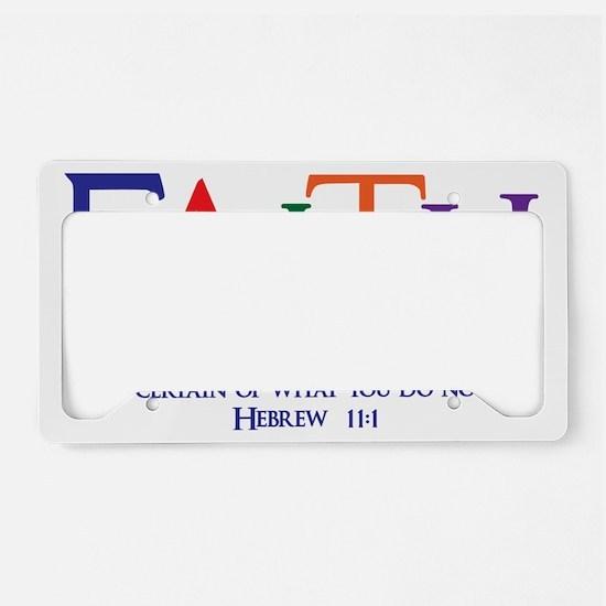 multi Hebrew 11_1 License Plate Holder
