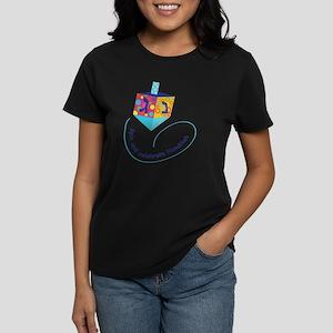 Hanukkah Dreidel Women's Dark T-Shirt