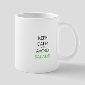Keep Calm And Avoid Salads Gastroparesis Awar Mugs