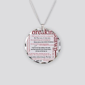 breaking dawn copy Necklace Circle Charm