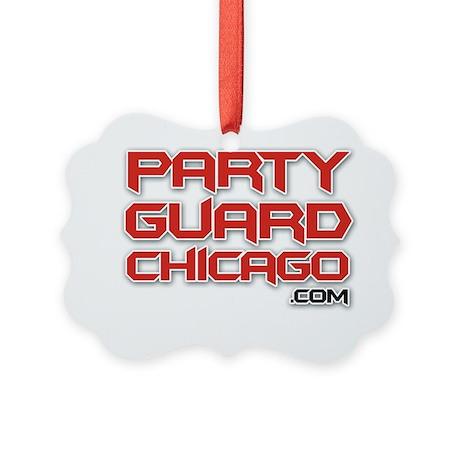 pg_logo_back Picture Ornament
