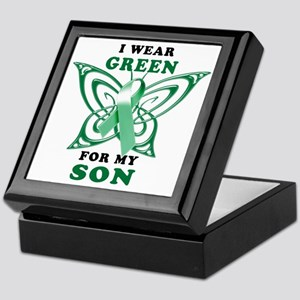 I Wear Green for my Son Keepsake Box