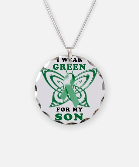 I Wear Green for my Son Necklace