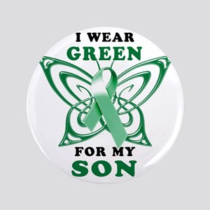 """I Wear Green for my Son 3.5"""" Button"""