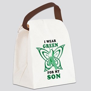 I Wear Green for my Son Canvas Lunch Bag