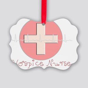 Hospice Nurse Picture Ornament