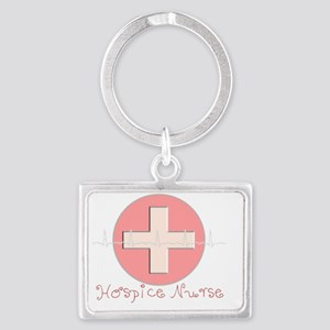 Hospice Nurse Landscape Keychain