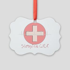 Hospice CNA Picture Ornament