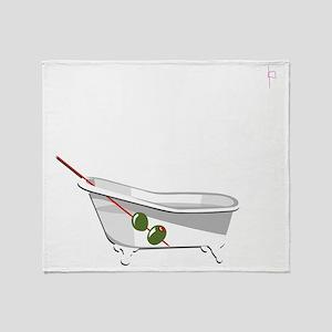 20111113_Phish_BathtubGin-Shadow Throw Blanket