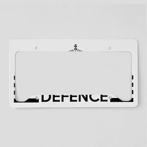 civilbag License Plate Holder