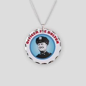 officer Joe copy Necklace Circle Charm