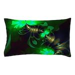 Irish Goblin Emerald Gold Ribbons Pillow Case