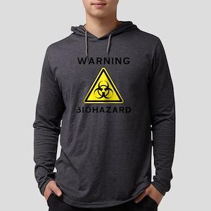 Biohazard Warning Sign Long Sleeve T-Shirt