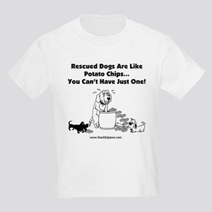 Rescued Dogs Are Like Potato  Kids T-Shirt