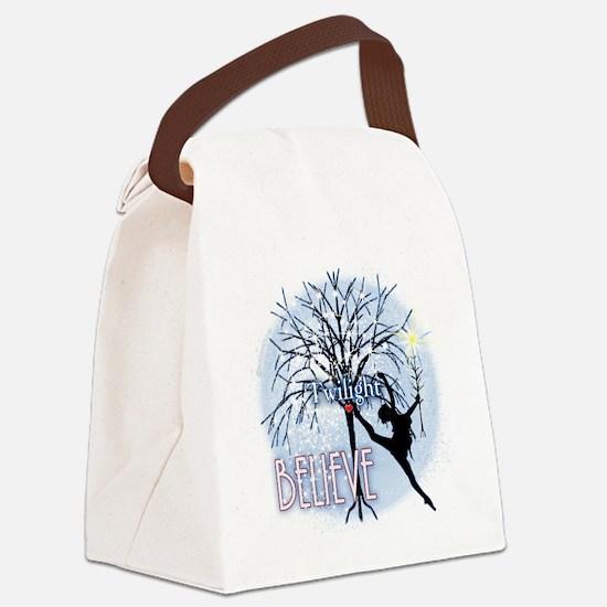 twilight believe dancer by twibab Canvas Lunch Bag