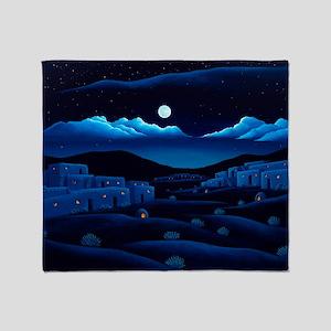 Pueblo Moon Throw Blanket