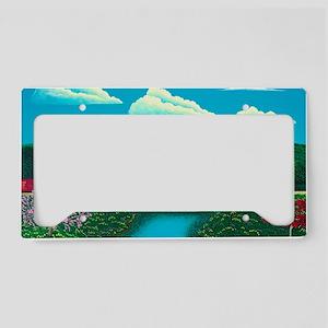 Vermont Springtime License Plate Holder