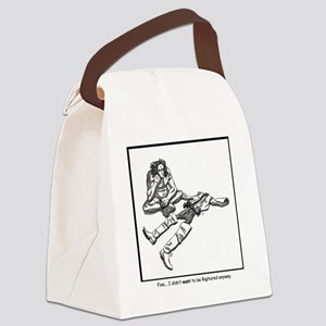 rapture without camping Canvas Lunch Bag