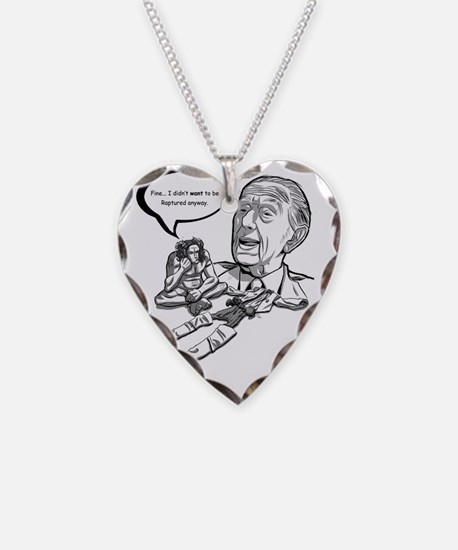 Rapture with Camping Necklace Heart Charm