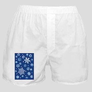 SnowFlakesGreeting Boxer Shorts