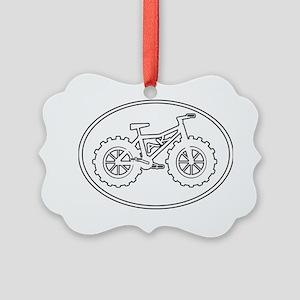 Fatbike AK Picture Ornament