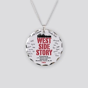 New West Side Necklace Circle Charm