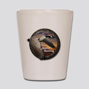 Goose Hunting Shot Glass