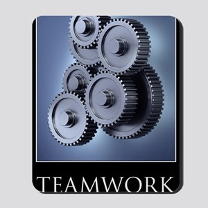 poster_teamwork_01 Mousepad