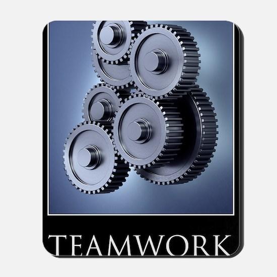 poster_teamwork_01 Mousepad