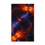 Dance of the Abstract Eyes 35x21 Wall Decal