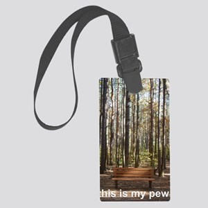 this is my pew Large Luggage Tag