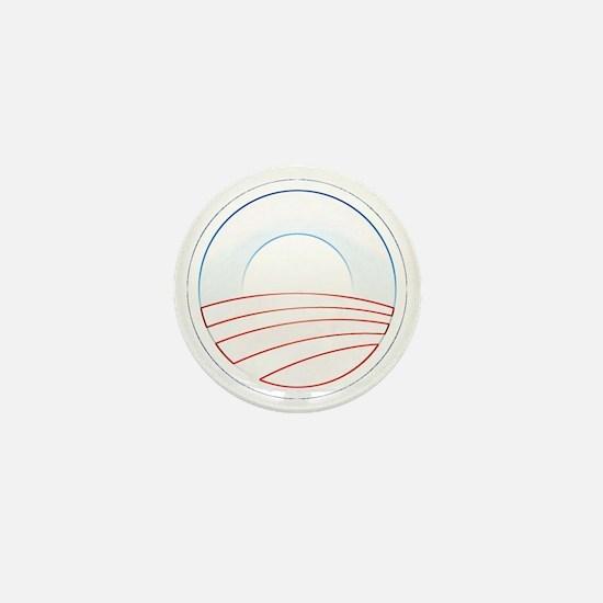 Obama Trim Logo cafepress Mini Button