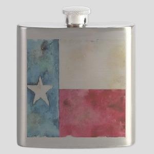 TEXAS FLAG Antique Flask