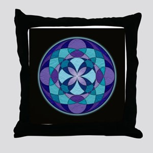 Kaleidoscope_Lrg_Bleed Throw Pillow