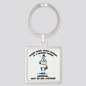 pa40light Square Keychain