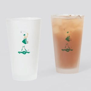 pa38black Drinking Glass